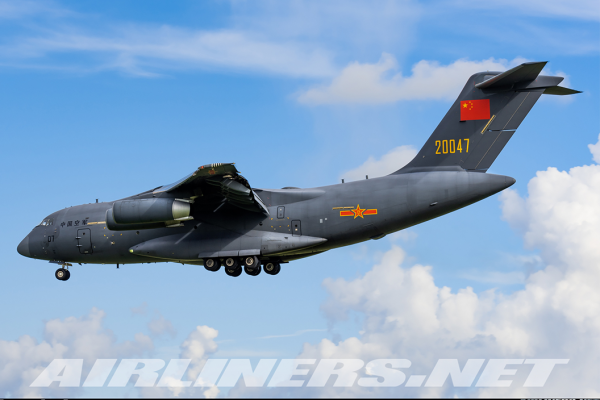 Xian Y-20 Kunpeng People's Liberation Army Air Force (PLA) Airshow China 2021 20047 Scale 1/400 #