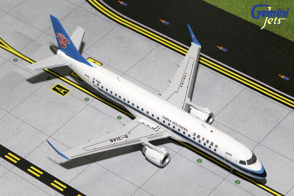 Embraer 190 China Southern Airlines B-3148 Scale 1/200