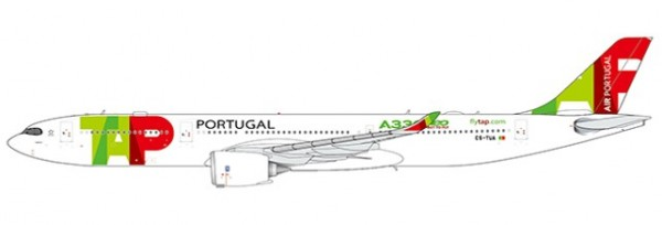 """Airbus A330-900neo TAP Air Portugal """"A330NEO Title"""" CS-TUA Scale 1/400"""