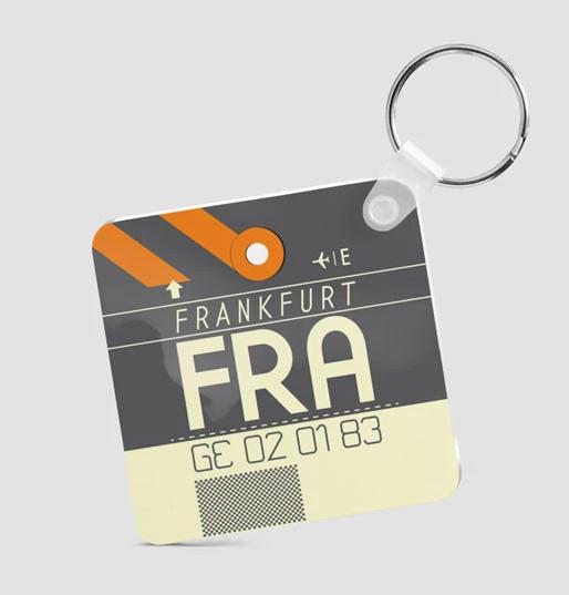 Square Keychain - FRA