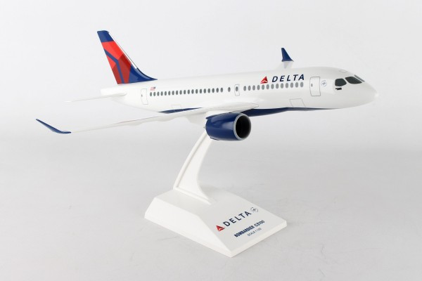 Airbus A220-100 Delta Airlines Scale 1/100
