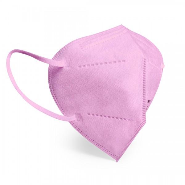 20 Stück Atemschutzmaske FFP2 Farbe Pink EN149:2001+A1:2009, CE 2834 zertifiziert