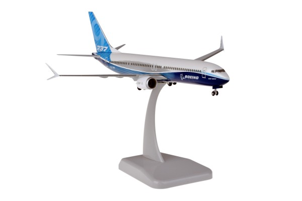 Boeing 737 MAX 9 House Color New Livery Scale 1:200
