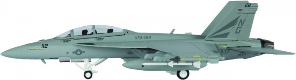 """McDonnell Douglas F/A-18F Hornet US Navy VFA-154 """"Black Knights"""", NG 112 Scale 1/200"""