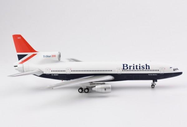 "Lockheed L-1011-200 TriStar British ""Negus; big title"" G-BGBCScale 1/400"