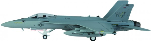 "McDonnell Douglas F/A-18E Hornet US Navy VX-9 ""Evaluators"", NAWS China Lake, XE 150 Scale 1/200"