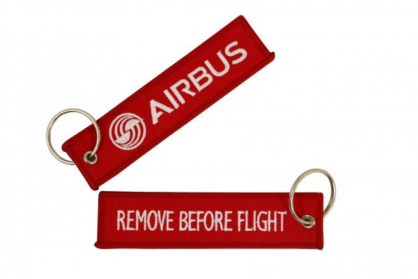 Key ring - Airbus red