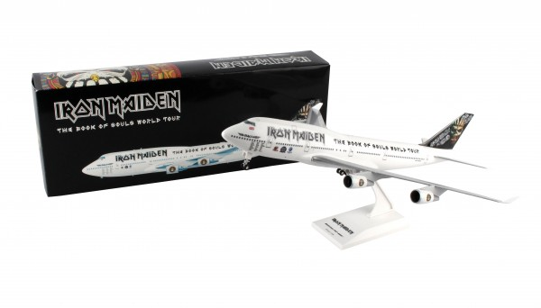 "Boeing 747-400 Iron Maiden ""The book of Souls tour"" 2016 Scale 1/200"