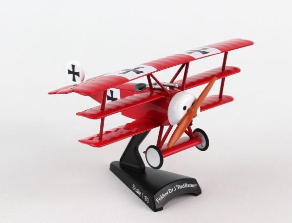 POSTAGE STAMP Fokker Dr.I Scale 1/63