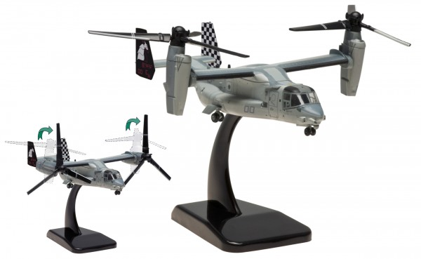 "Bell-Boeing MV-22B US Marines VMM-264 ""Black Knights"", Bureau Number:168300 Scale 1/200"