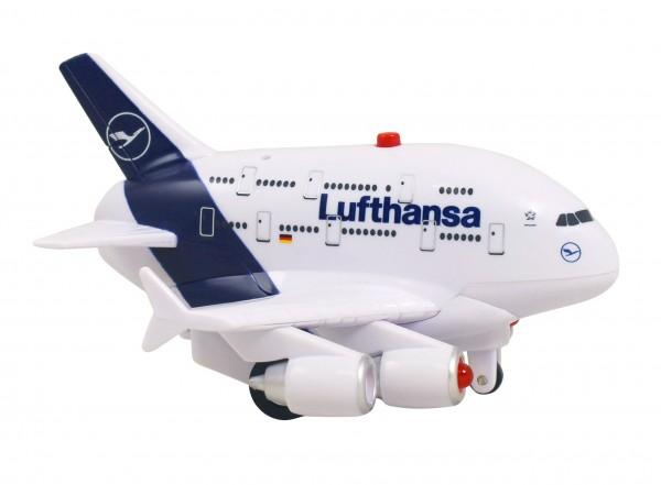 Airbus A380 Lufthansa Pullback Plane new livery w/Light & Sound