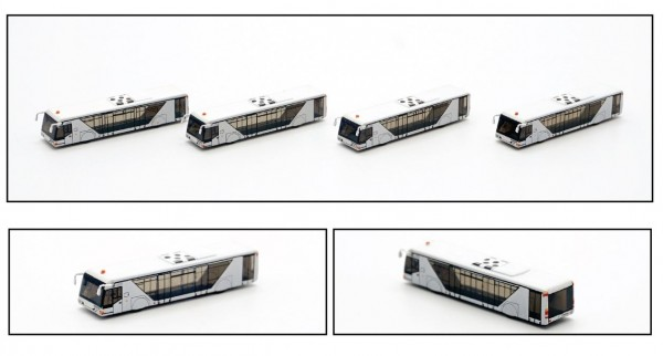 Airport Bus Neoplan A Scale 1/400