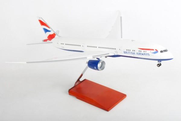 Boeing 787-9 British Airways G-ZBKE Scale 1/100 w/Gear
