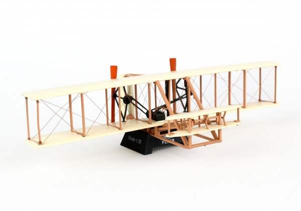 """POSTAGE STAMP Wright Flyer """" Kitty Hawk Flyer"""" Scale 1/72"""