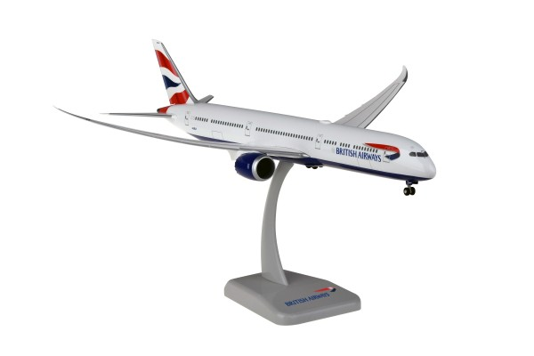Boeing 787-10 British Airways with WIFI Radome G-ZBLA Scale 1:200