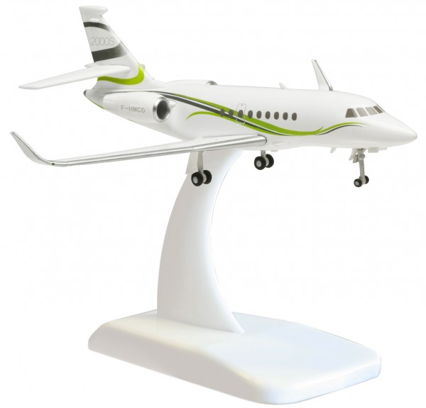 Dassault Falcon 2000LX (die cast) F-HMCG Scale 1:200