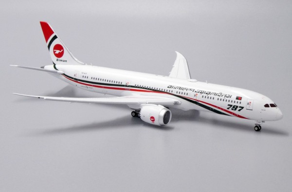Boeing 787-9 Biman Bangladesh Airlines Flaps Down Version S2-AJY Scale 1/400