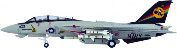 "Grumman F-14D Tomcat US Navy VF-31 ""Tomcatters"", CVW-14, CVN-72 Scale 1/200"