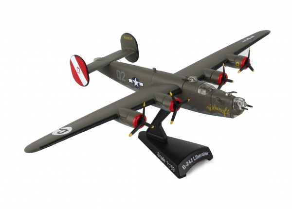 POSTAGE STAMP Consolidated B-24 Liberator Witchcraft Scale 1/163