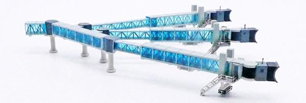 Air Passenger Bridge A380 (blue) Scale 1/400 #