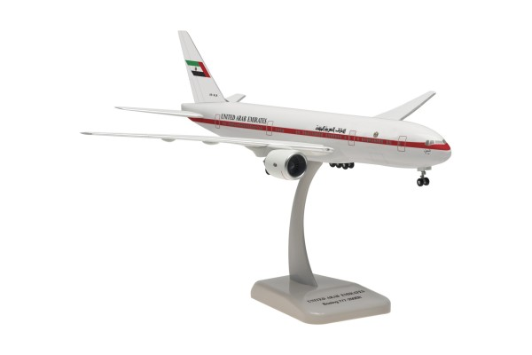 Boeing 777-200ER United Arab Emirates (Abu Dhabi Amiri Flight) Scale 1:200