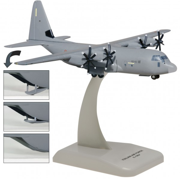 Lockheed C-130J Super Hercules Italy Air Force Scale 1/200