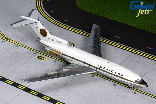Boeing 727-100 Mexicana Scale 1/200