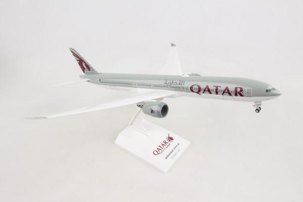 Boeing 777-9 Qatar Airways Scale 1/200 w/G and flex Wingtips