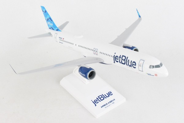 """Airbus A321neo Jetblue """"Allow Me To Introduce Myself"""" N4048J Scale 1/150"""