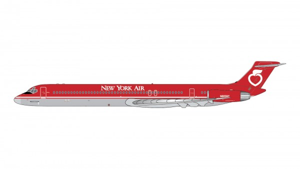 McDonnell Douglas MD-80 New York Air N805NY Scale 1/400