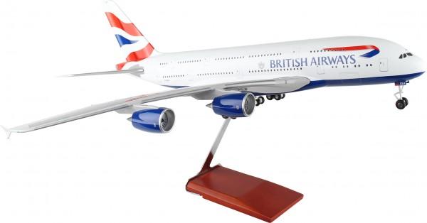 Airbus A380 British Airways Scale 1/100 w/Gear