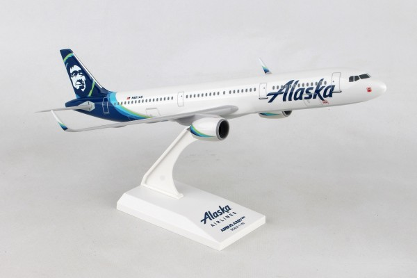 Airbus A321neo Alaska Airlines Scale 1/150