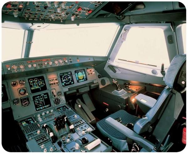 Airbus A320 Cockpit Mousepad