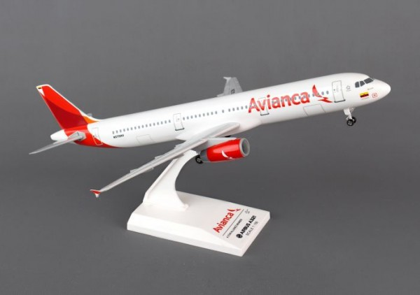 Airbus A321 Avianca Airlines Scale 1/150 w/Gear