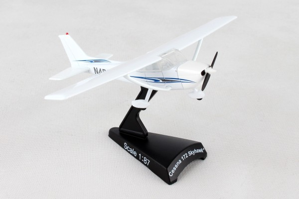 POSTAGE STAMP Cessna 172 Skyhawk Scale 1/87