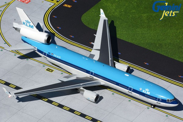 """McDonnell Douglas MD-11 KLM """"1990s livery"""" Scale 1/200"""