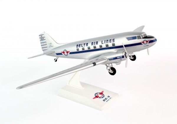 Douglas DC-3 Delta Air Lines NC28341 Scale 1/80 w/G