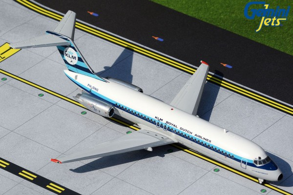 """McDonnell Douglas DC-9-30 KLM """"1961 livery"""" PH-DNG Scale 1/200"""