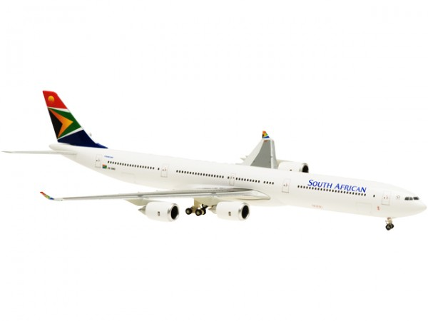 Airbus A340-600 South African Airways Scale 1:400
