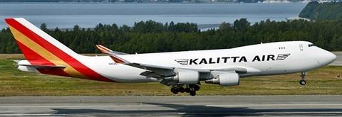 "Boeing 747-400F Kallita Air ""Interactive Series"" N403KZ Scale 1/400 #"
