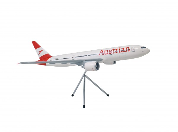Boeing 777-200ER Austrian Airlines New Livery Scale 1:100