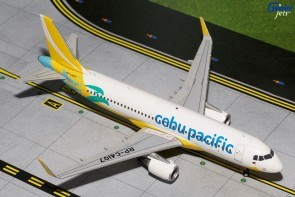Airbus A320-200 Cebu Pacific (New Livery, Sharklets) Scale 1/400