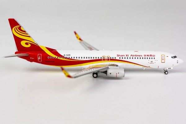 Boeing 737-800 Shan Xi Airlines B-5135 Scale 1/400