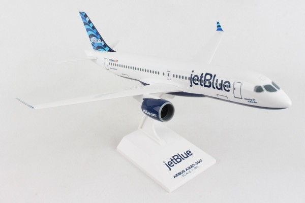 Airbus A220-300 Jetblue N3044J Scale 1/100