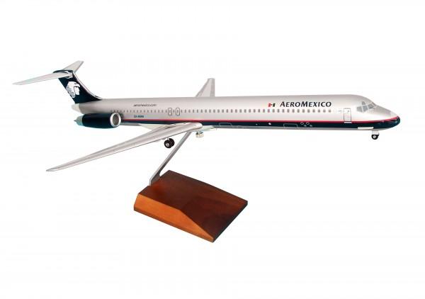 McDonnell Douglas MD-80 Aeromexiko Scale 1/100 w/Gear