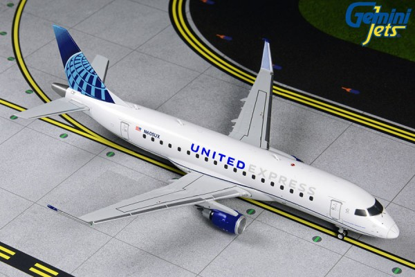 Embraer 175 United Express Scale 1/200