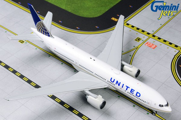 Boeing 777-200ER United Airlines Scale 1/400