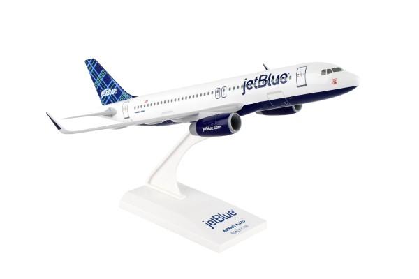 """Airbus A320 jetBlue Airways """"Tartan"""" Scale 1/150"""