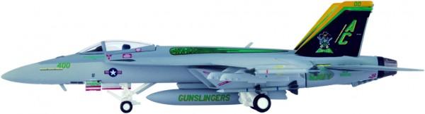 "McDonnell Douglas F/A-18E Hornet US Navy VFA-105 ""Gunslingers"", CVW-3, NAS Oceana,AC 400 Scale 1/200"