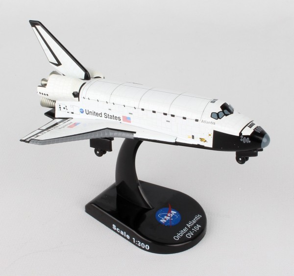 POSTAGE STAMP Space Shuttle Atlantis Scale 1/300